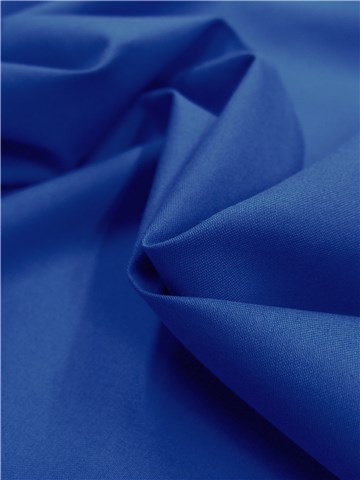 Cotton Twill - soft - Plain - Bleu Roi