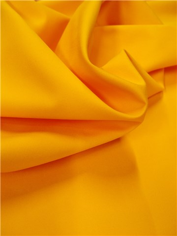 Cotton Twill - soft - Plain - Jaune Soleil
