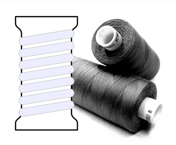 Coats sewing Thread - - - 01700 - 1000 m