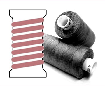Coats sewing Thread - - - 03357 - 1000 m