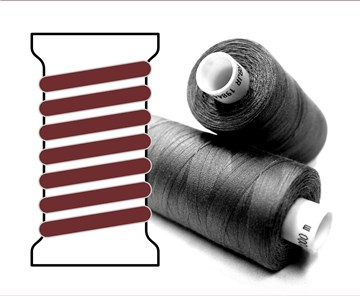 Coats sewing Thread - - - 00417 - 1000 m