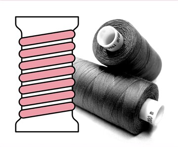 Coats sewing Thread - - - 00380 - 1000 m