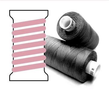 Coats sewing Thread - - - 03122 - 1000 m
