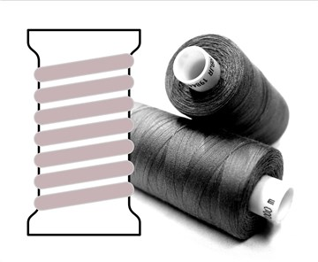 Coats sewing Thread - - - 03158 - 1000 m