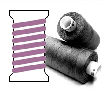 Coats sewing Thread - - - 04382 - 1000 m