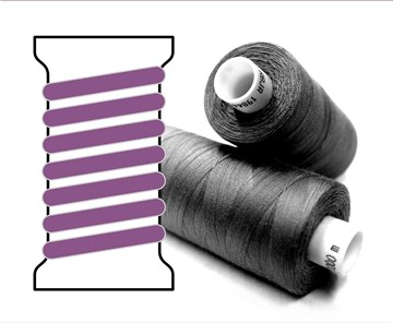 Coats sewing Thread - - - 04366 - 1000 m