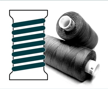 Coats sewing Thread - - - 07599 - 1000 m