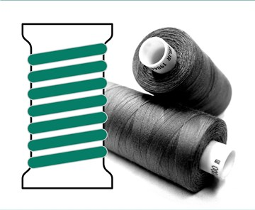 Coats sewing Thread - - - H0075 - 1000 m