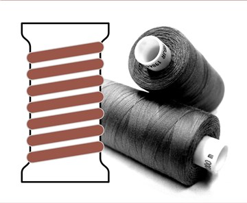 Coats sewing Thread - - - 02206 - 1000 m