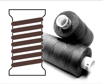 Coats sewing Thread - - - 08755 - 1000 m