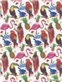 Liberty Tana Lawn - Birds of paradise - A