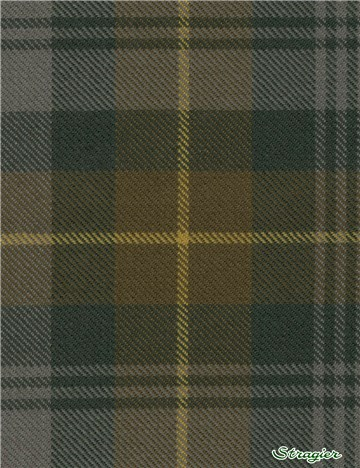 Tartan Ecossais Pure Laine - Gordon Clan Weathered -