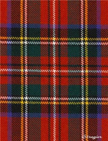CLAN Cravate Mackay Ancient Tartan pure laine écossais fait à la Main Cravate