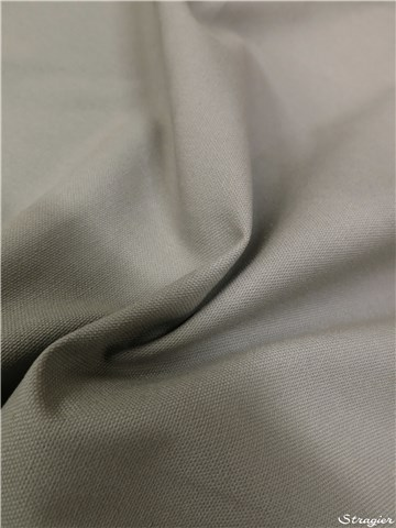 pure Cotton Cloth - Heavy - Plain - Gris Perle