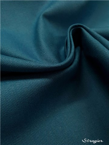 pure Cotton Cloth - Heavy - Plain - Bleu Canard