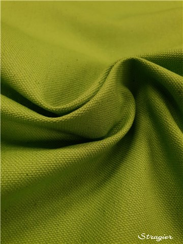 pure Cotton Cloth - Heavy - Plain - Citron Vert