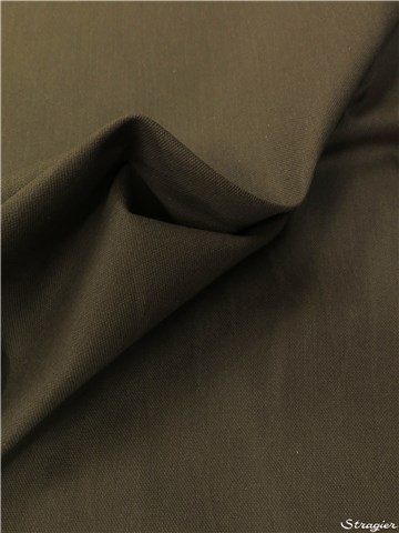 pure Cotton Cloth - Heavy - Plain - Kaki