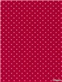 Pure Cotton Poplin - Pois 1,5mm - Fuschia