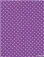 Pure Cotton Poplin - Pois 1,5mm - Violet