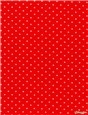 Pure Cotton Poplin - Pois 1,5mm - Rouge