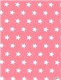 Pure Cotton Poplin - Etoiles - Rose