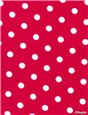 Pure Cotton Poplin - Pois 7mm - Fuschia