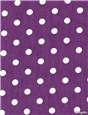 Pure Cotton Poplin - Pois 7mm - Violet