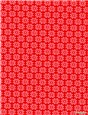 Pure Cotton Poplin - Daisy - Rouge