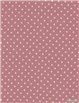 Pure Cotton Poplin - Pois 1,5mm - Rose des Champs