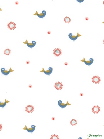 Pure Cotton Poplin - Lil Birds - 150