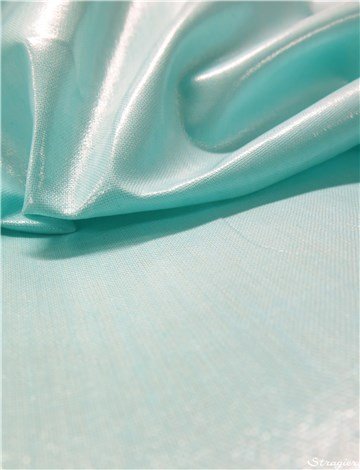 Cotton Poplin - coated - Plain - Mint
