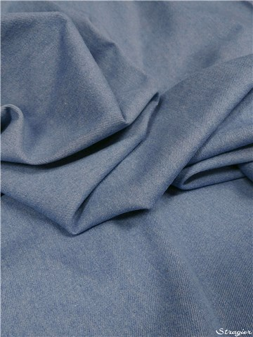 Denim Fabric 330gr/sqm - Plain - Pale Blue