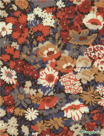 Liberty Tana Lawn - 9005 Thorpe - Burnt
