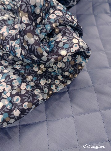 Liberty Quilted Fabric - 9009 Wiltshire - B