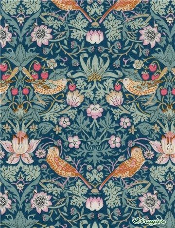 Liberty Tana Lawn - Strawberry thief - Canard