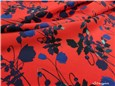 Liberty Viscose Supersoft - Poppy Dream - Rubis