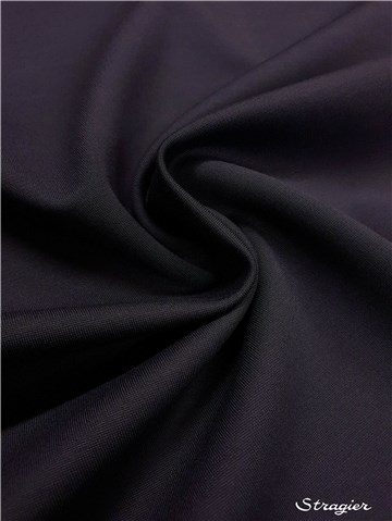 Maille Milano Stretch - uni - Encre