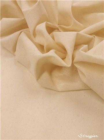 Stragier - Draping Fabrics - Calico - uni - Naturel