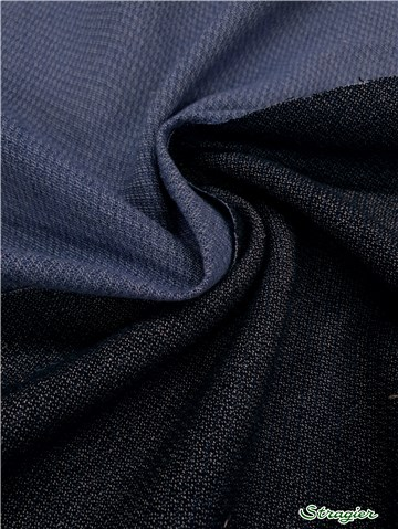 Three Threads - Pure Cotton - uni - Marine-Bleu