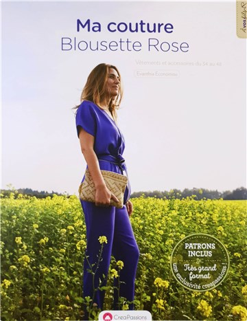 Book - Blousette Rose - Ma Couture