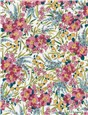 Liberty Tana Lawn - Swirling Petals - Violette