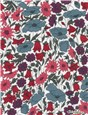 Liberty Tana Lawn - 4095 Poppy and Daisy - Dusk