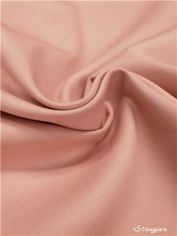 Cotton Satin - Stretch - uni - Beige rosé