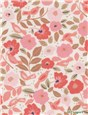 Pure Cotton - Silky Touch - UNE - Florilège - Corail-Rose