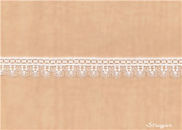 Guipure Lace - Calista - Stragier Pale Ivory - 25 mm