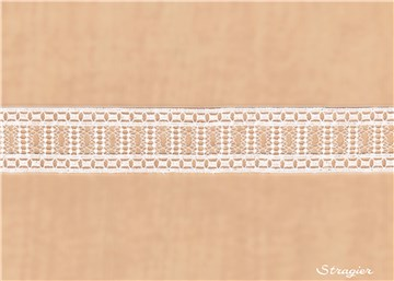 Guipure Lace - Calista - Stragier Pale Ivory - 35 mm