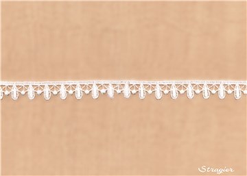 Guipure Lace - Linta - Stragier pale Ivory - 15 mm