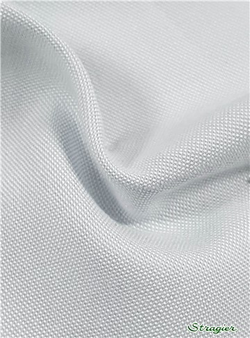 "Coton ""Pin-Point"" - uni - Gris Perle"