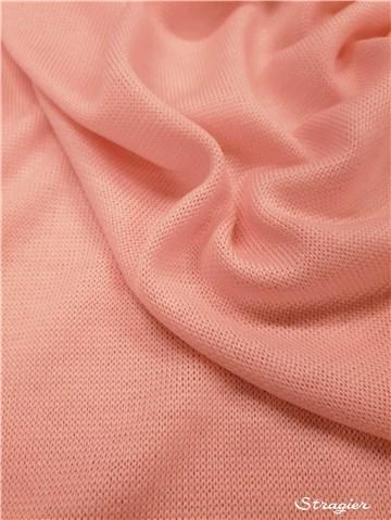 Maille pure Laine - souple et douce - uni - Rose clair