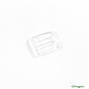 Crochet bretelle amovible -  - Nylon - Transparent - 10 mm